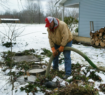 Septic tanks maintenance Erie